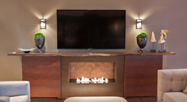 THumbnail Fireplace Television Console Open